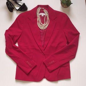 NY&Co. Bright pink blazer sz6 NWOT